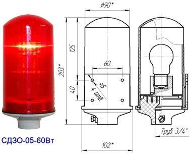 Заградительный огонь «СДЗО-60Вт»